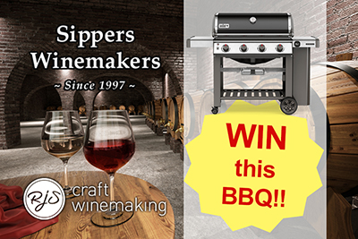 Win this BBQ from Sippers Winemakers